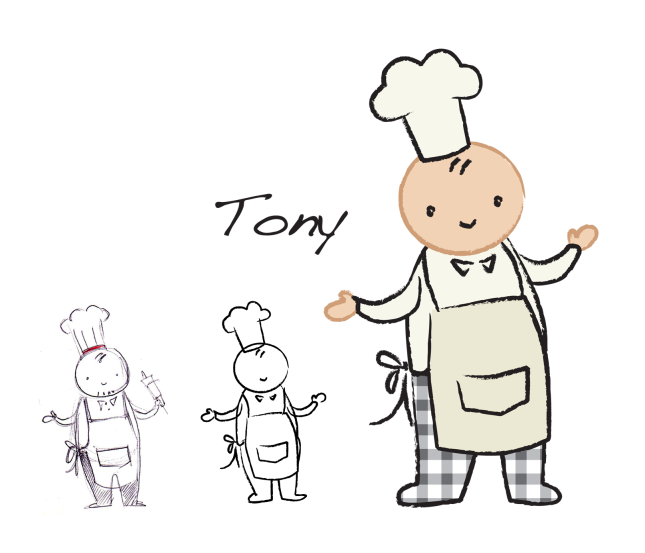 character dev: Chef Tony