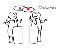 Illustration: Debates