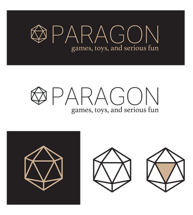 paragon games logotype